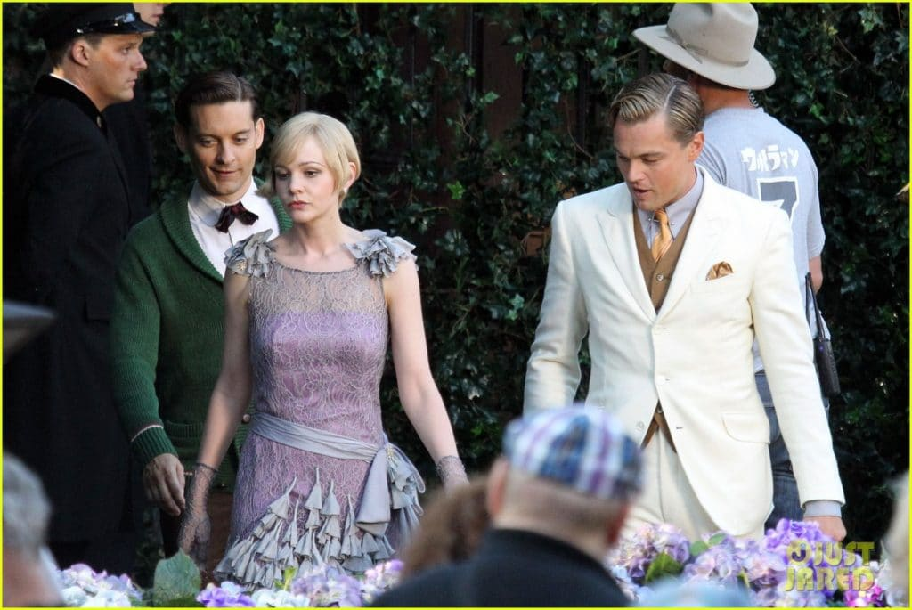 "Film Set: ""The Great Gatsby"""