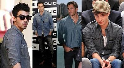 porter une chemise en jean