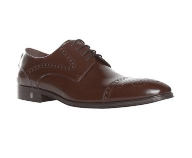 Chaussure versace cuir brun