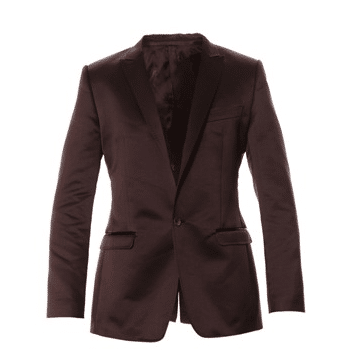 blazer satiné marron D&G
