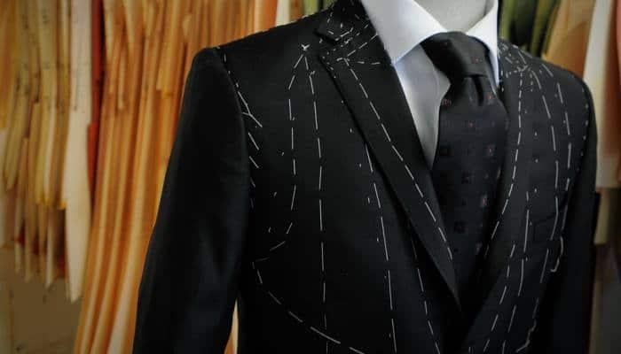 costume bespoke homme
