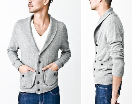 cardigan maille homme