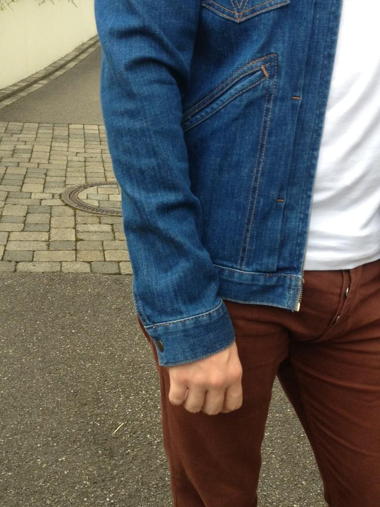 autres détails veste en jean