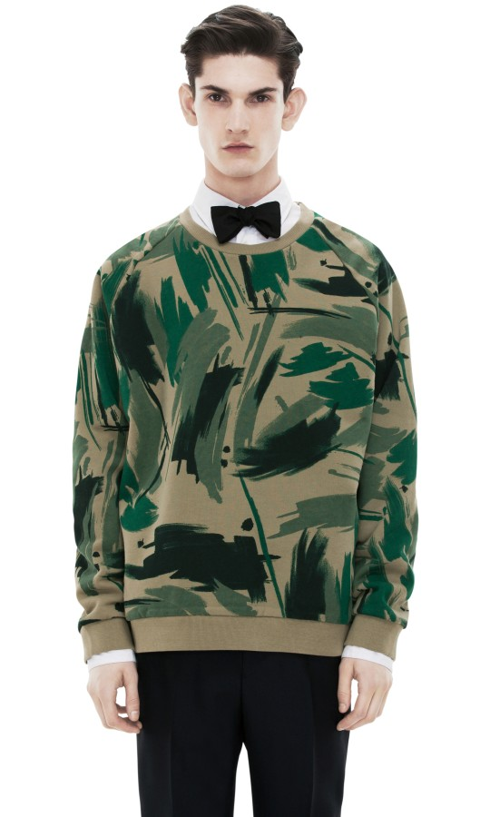 sweat camo acne