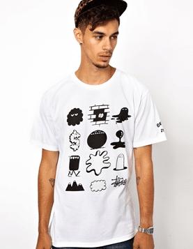T-shirt imprimé asos