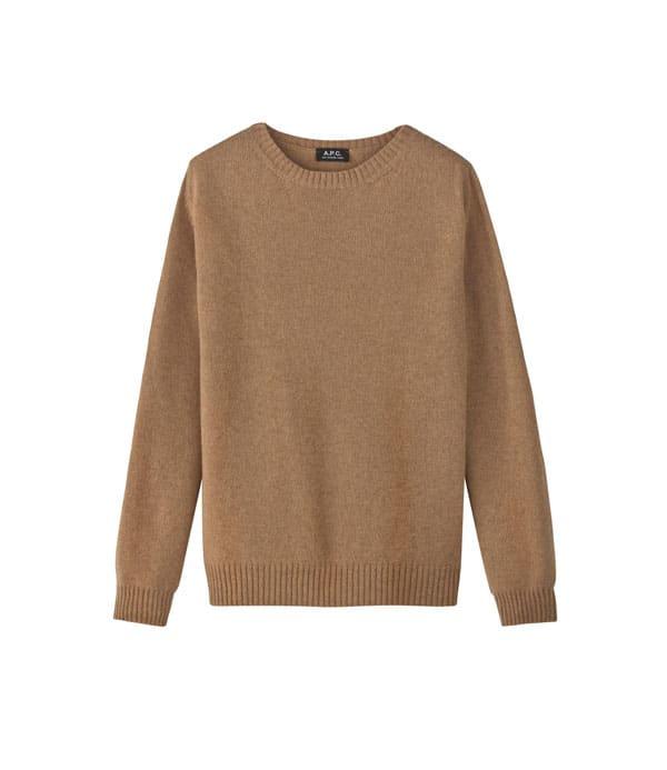 pull chameau laine