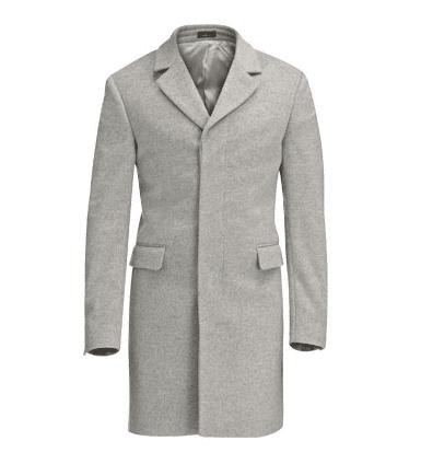 Manteau de Fursac drap de laine et cachemire