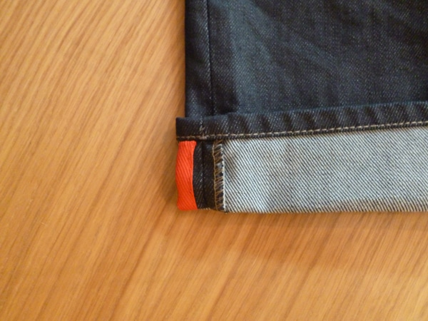 rouge code couleur denim