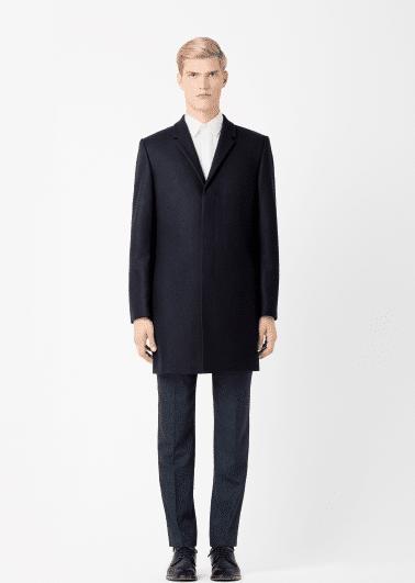 manteau laine et cachemire COS
