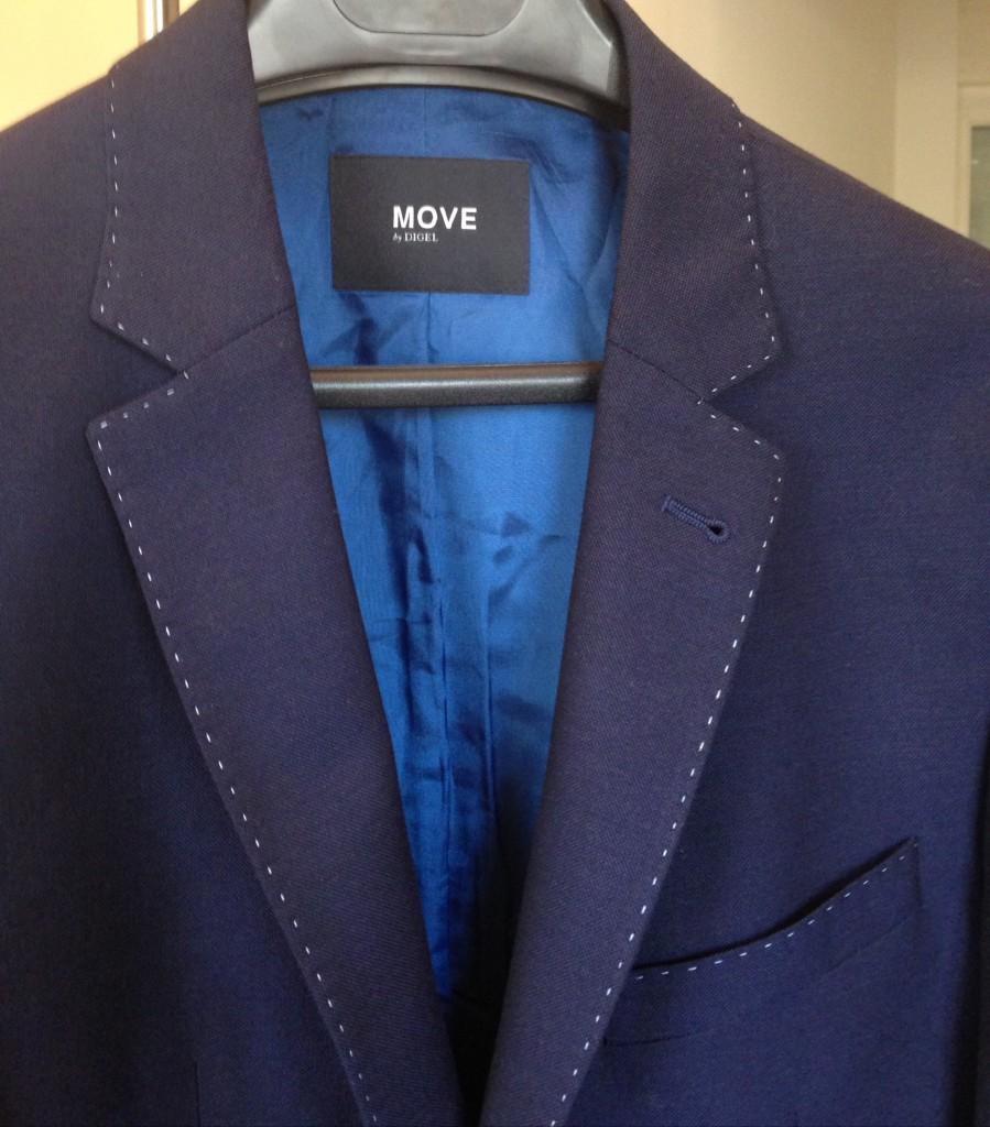 veste bleu marine Digel
