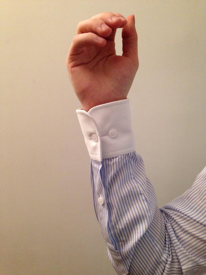 poignet chemise