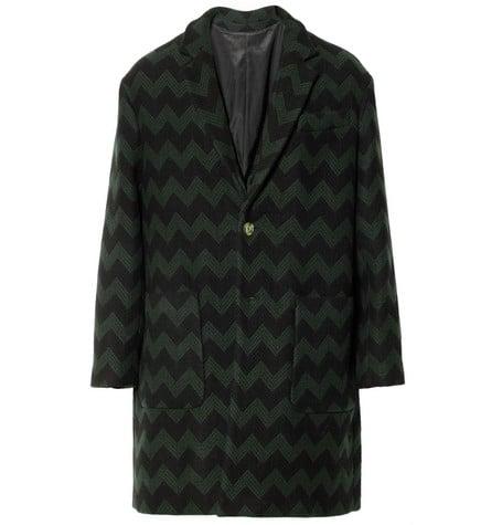 manteau ami zig zag