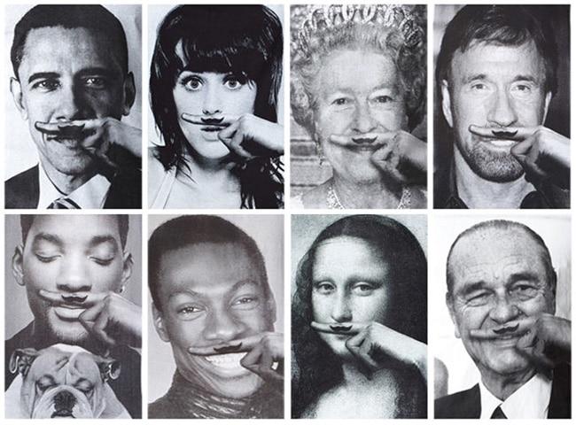 moustache eleven paris
