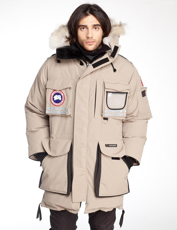Parka canada goose homme
