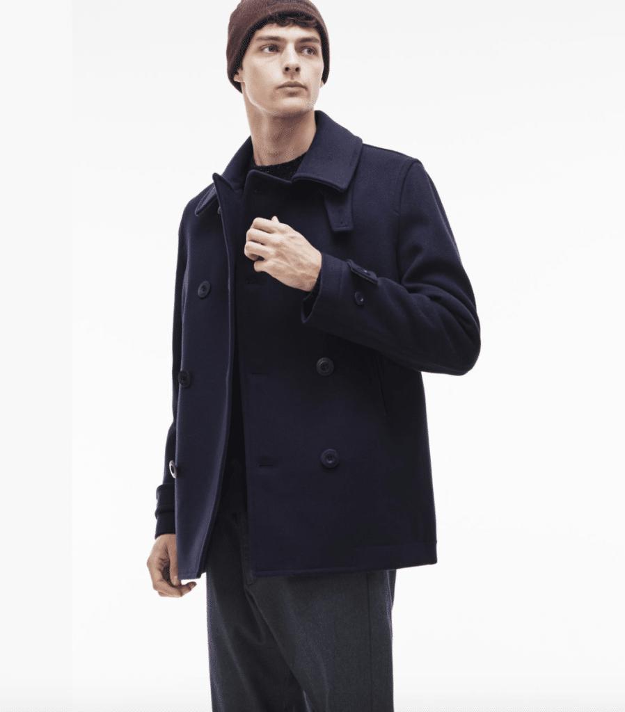 Manteau pour homme Lacoste