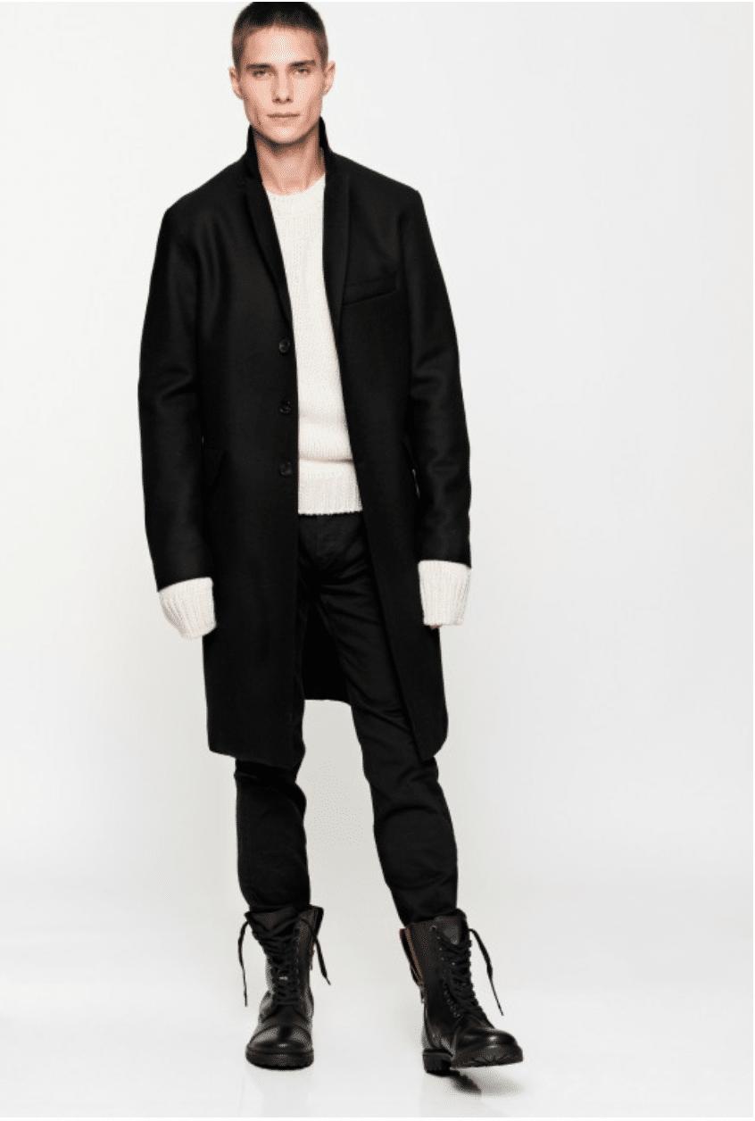 Shoppez Vos Tommy Hilfiger Tailored Homme Manteaux En Laine