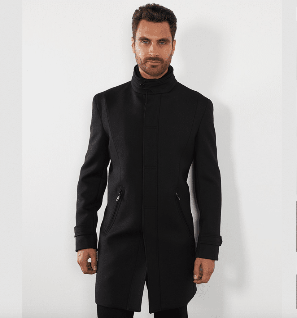 Manteau Col Officier Izac