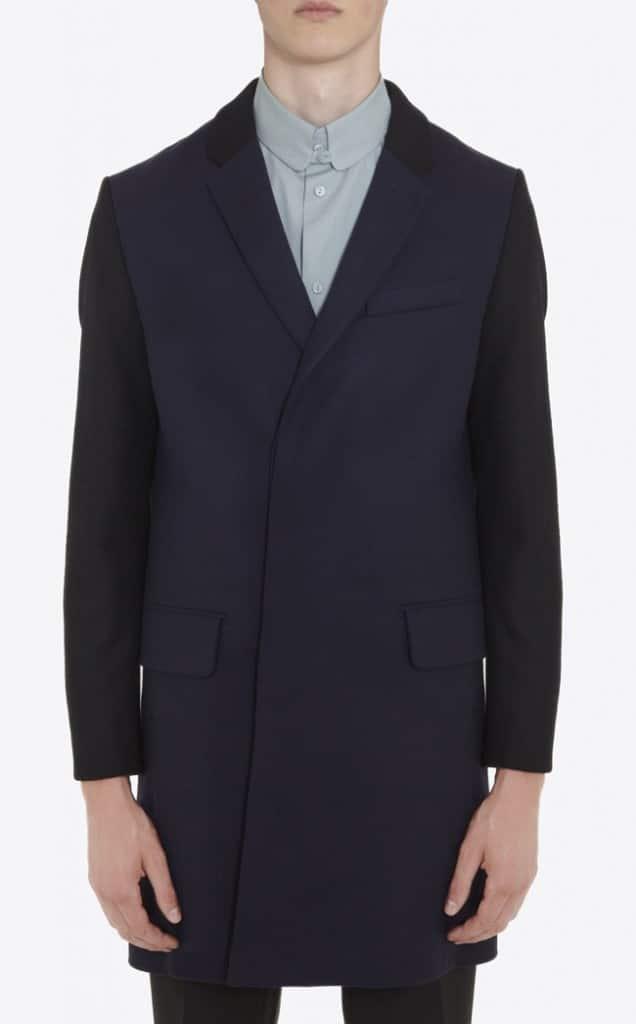 manteau droit carven