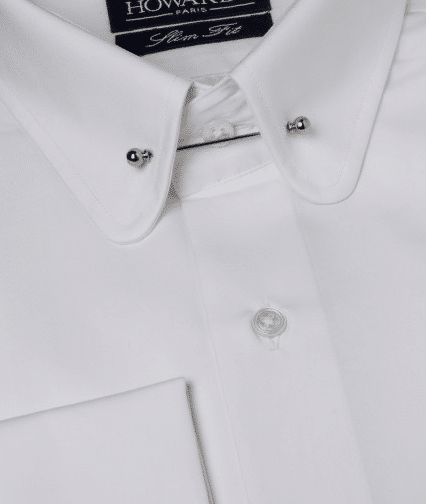 chemise howards blanche