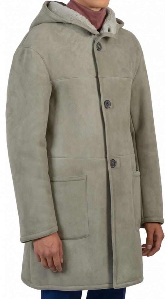 manteau peau lainée melinda gloss