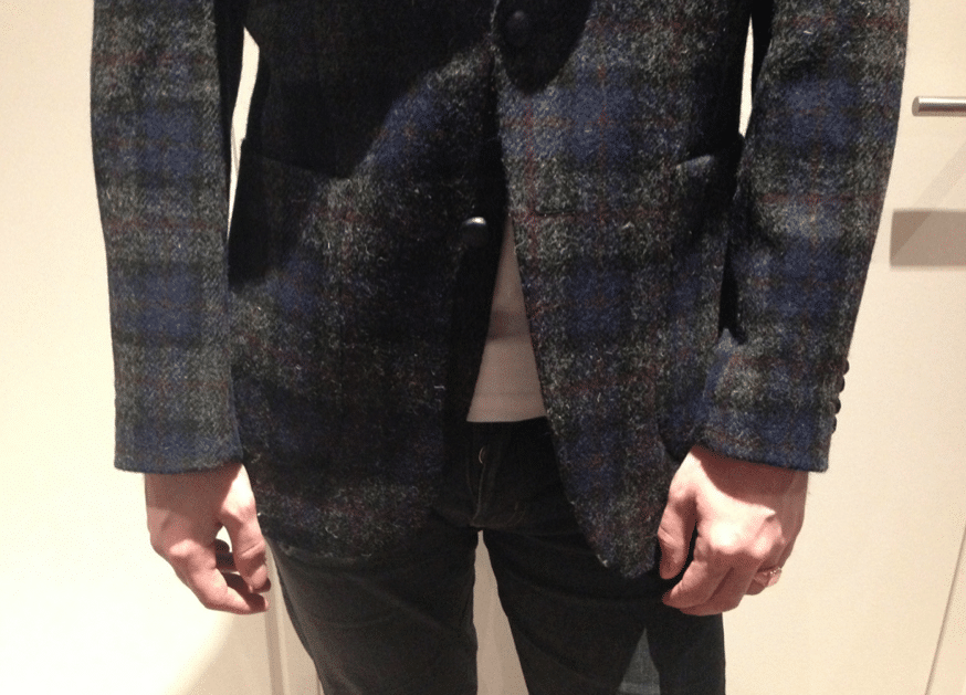 veste tweed barutti