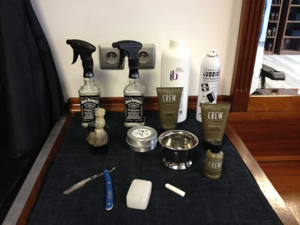 Produits rasage barber shop