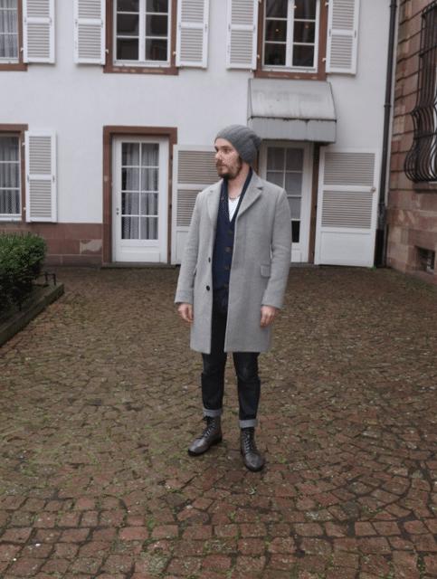 look manteau de fur sac