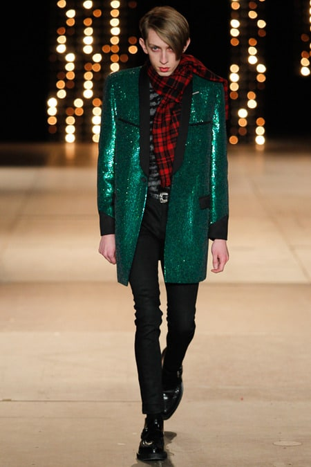 saint laurent défilé 2014
