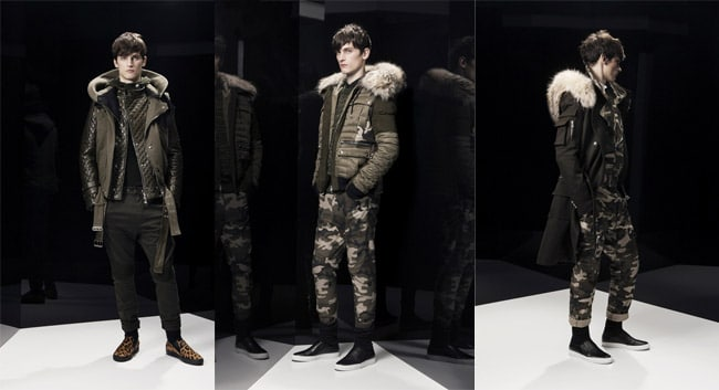 Collection balmain hiver 2014
