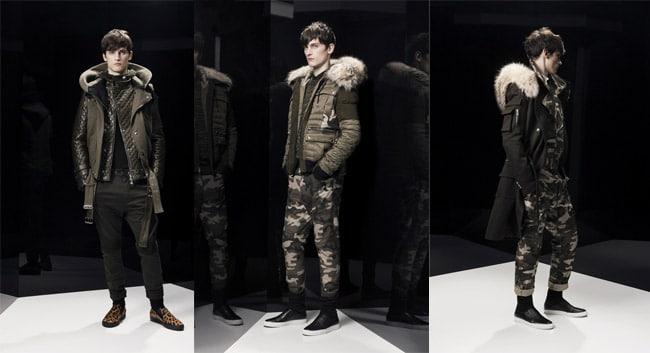 Collection balmain hiver 2014