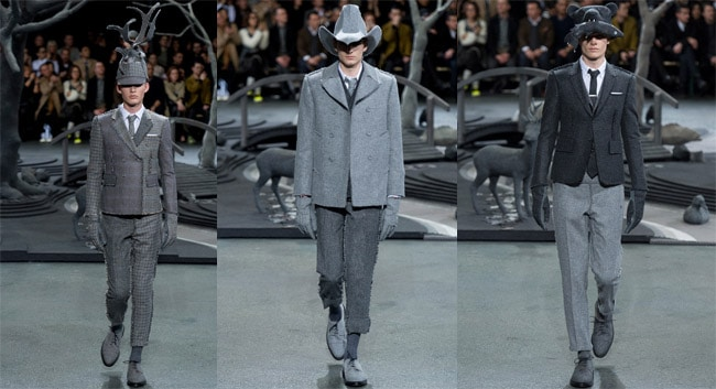 Thom browne fashion week 2014