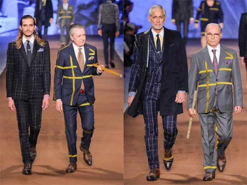etro collection fashion week tailleur