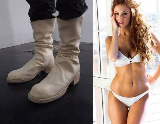 bottes homme femme sexy chaussures