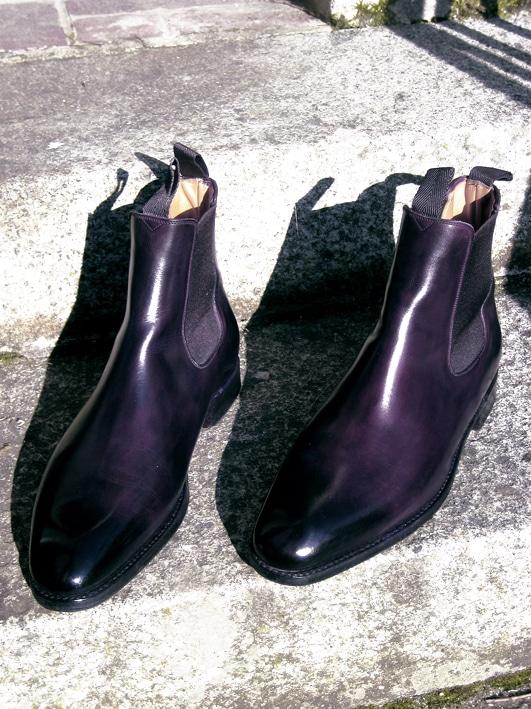 chealse boots septième largeur