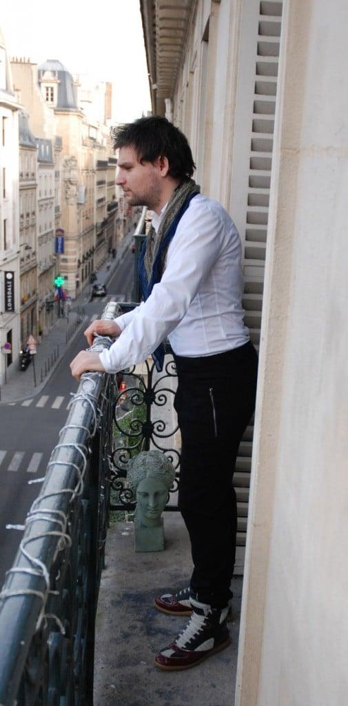 Adrien balcon Martin Margiela