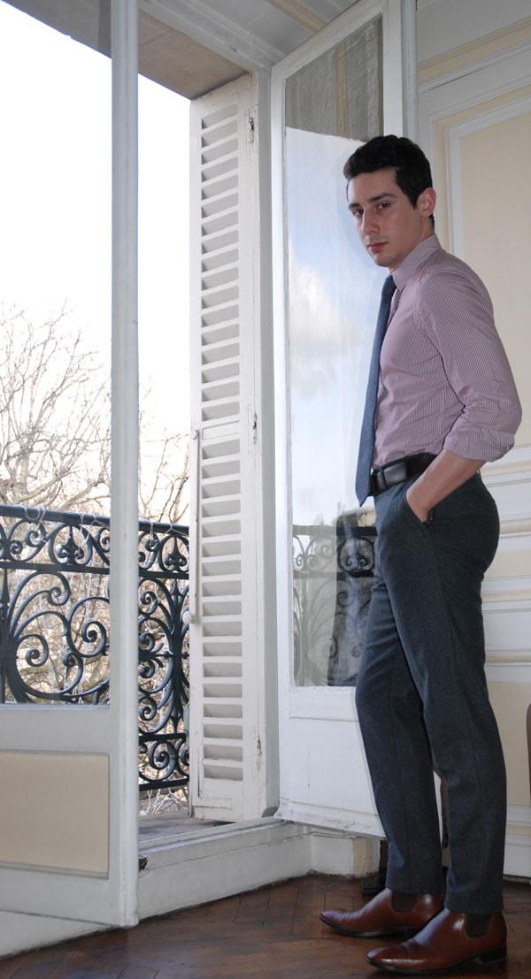 chemise pantalon formel