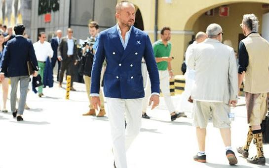 choisir un blazer bleu