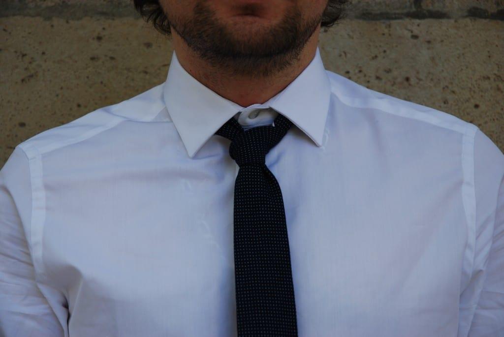 chemise habillée cavalier bleu Adrien