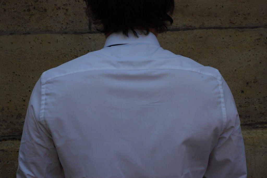 Dos chemise habillée Cavalier Bleu Adrien