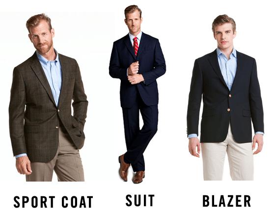différence costume et blazer
