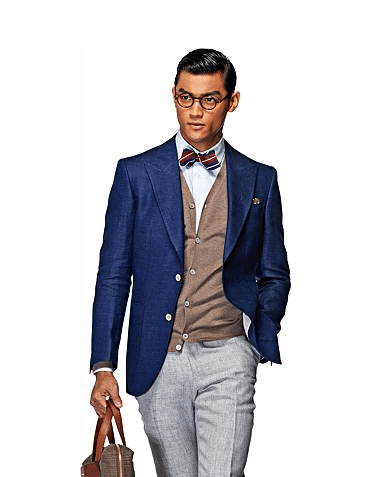 blazer bleu suitsupply