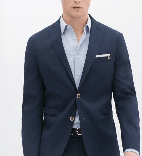 blazer zara Petit précepte du blazer bleu pour vous messieurs