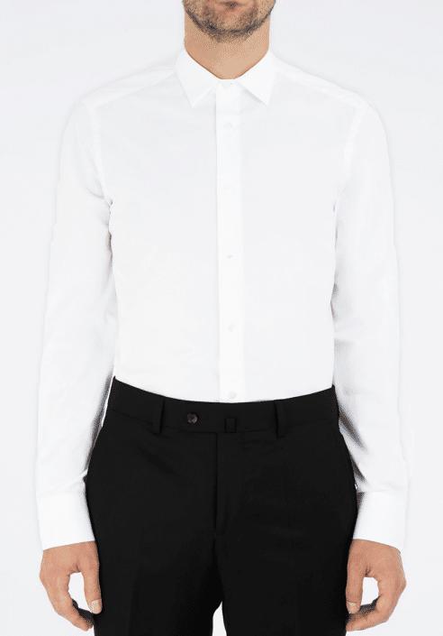 chemise blanche habillée Cavalier Bleu
