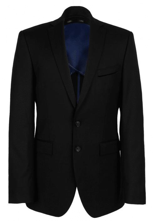 costume noir cavalier bleu