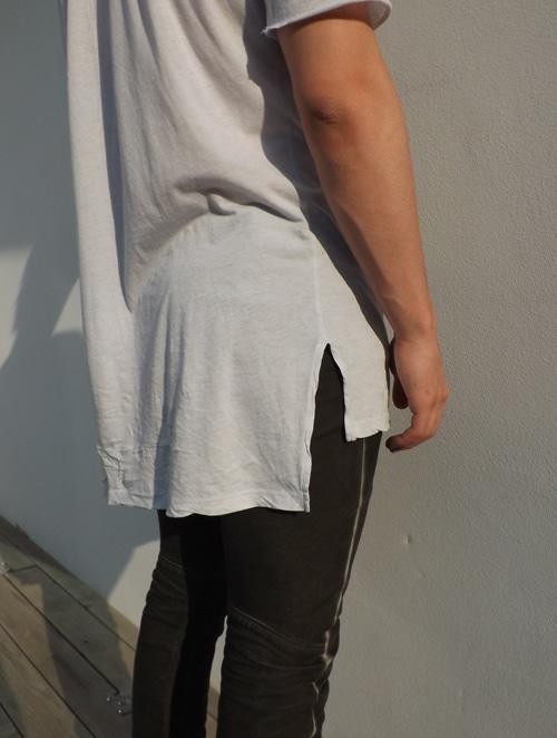 tshirt asymétrique