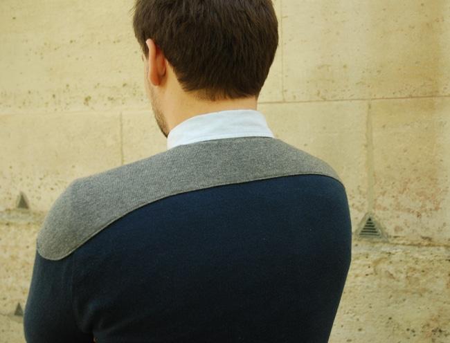 Hédus épaules derrière Adrien