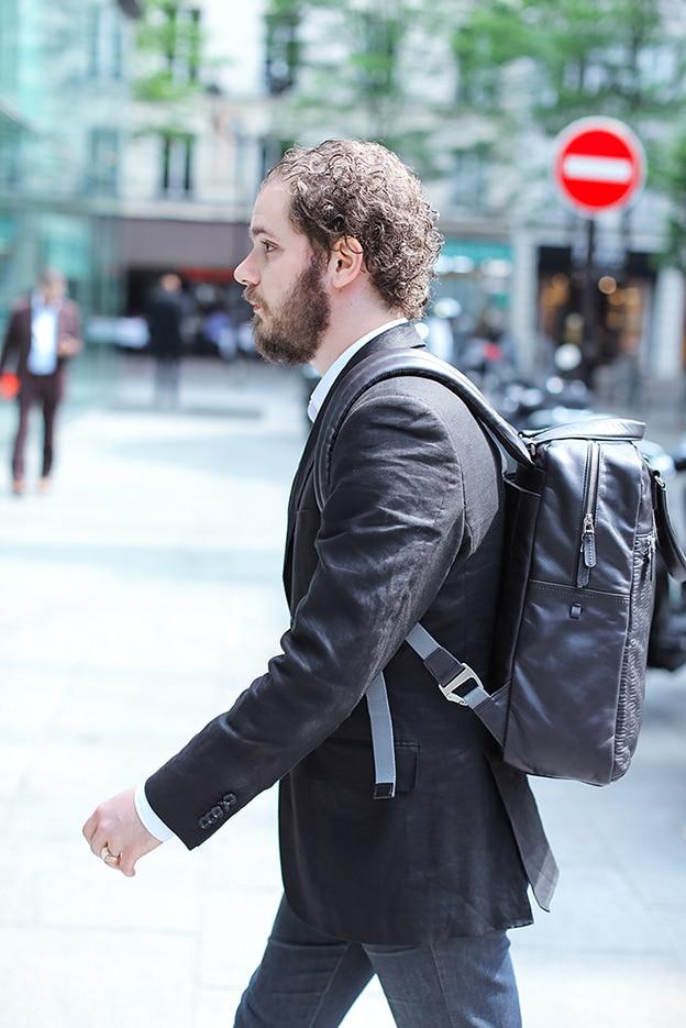sac à dos cuir piquadro