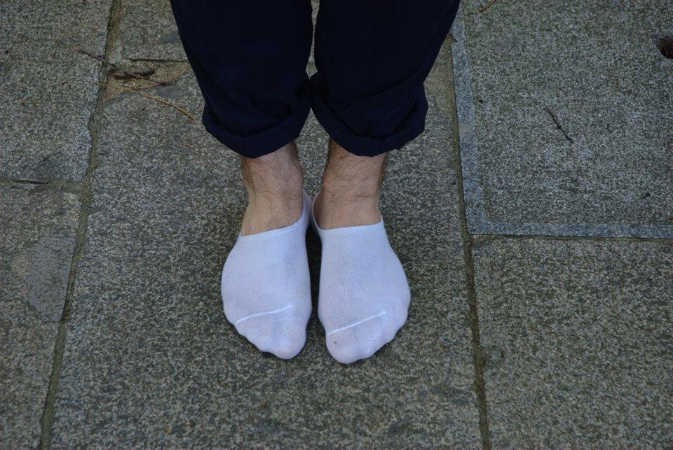 chaussettes invisibles H&M ballerines femme