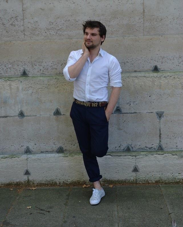 Adrien Cavalier Bleu Faguo