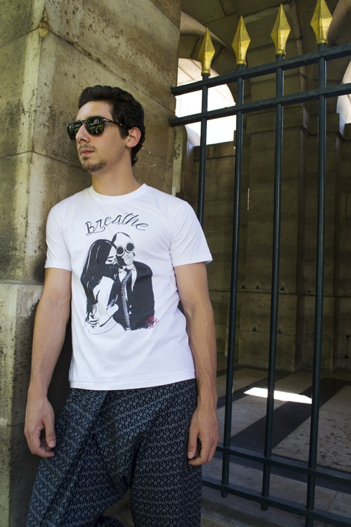 Sidney tee shirt Chris Von Martial